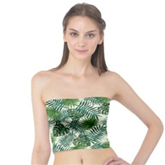 Leaves Tropical Wallpaper Foliage Tube Top