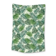 Leaves Tropical Wallpaper Foliage Small Tapestry by Vaneshart