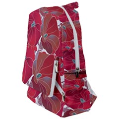 Floral Pattern Background Travelers  Backpack