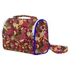 Floral Pattern Design Satchel Shoulder Bag
