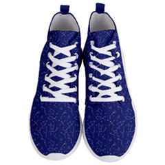 Constellations Pattern Men s Lightweight High Top Sneakers