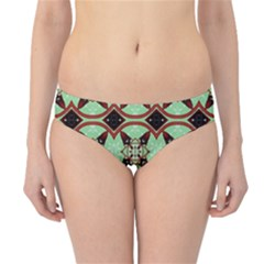 Christmas Pattern Hipster Bikini Bottoms