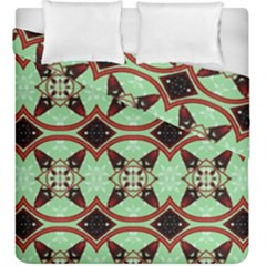 Christmas Pattern Duvet Cover Double Side (king Size) by Vaneshart
