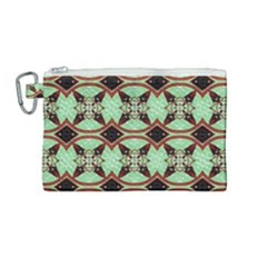 Christmas Pattern Canvas Cosmetic Bag (medium)