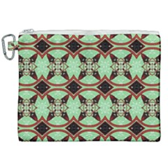 Christmas Pattern Canvas Cosmetic Bag (xxl)