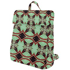 Christmas Pattern Flap Top Backpack