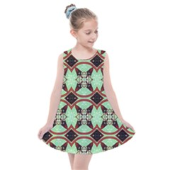 Christmas Pattern Kids  Summer Dress
