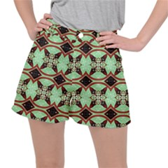 Christmas Pattern Ripstop Shorts
