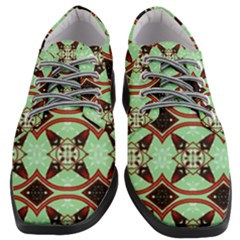 Christmas Pattern Women Heeled Oxford Shoes