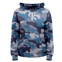 Military Seamless Pattern Women s Pullover Hoodie