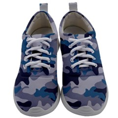 Military Seamless Pattern Mens Athletic Shoes