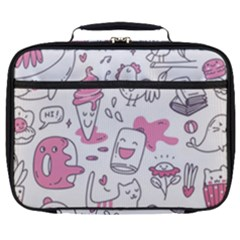 Set Kawaii Doodles Full Print Lunch Bag