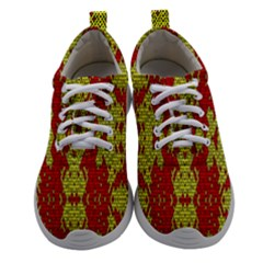 Rby 55 Women Athletic Shoes by ArtworkByPatrick