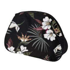 Beautiful Artistic Dark Tropical Pattern Full Print Accessory Pouch (small)