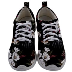 Beautiful Artistic Dark Tropical Pattern Mens Athletic Shoes by Vaneshart