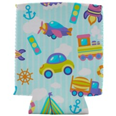 Transport Toy Seamless Pattern Can Holder