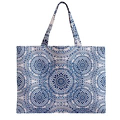 Boho Pattern Style Graphic Vector Mini Tote Bag by Sobalvarro
