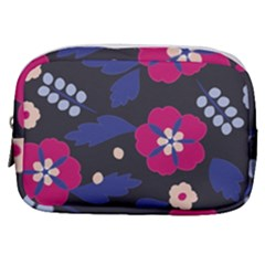 Vector Seamless Flower And Leaves Pattern Make Up Pouch (small) by Sobalvarro