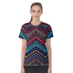 Ethnic  Women s Cotton Tee by Sobalvarro