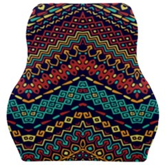 Ethnic  Car Seat Velour Cushion  by Sobalvarro
