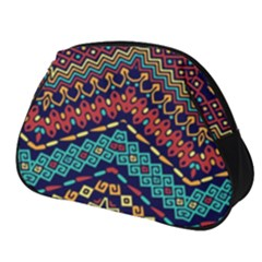 Ethnic  Full Print Accessory Pouch (small) by Sobalvarro