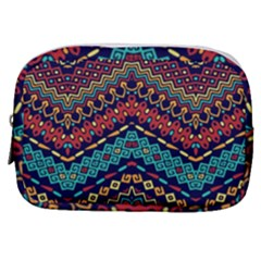 Ethnic  Make Up Pouch (small) by Sobalvarro