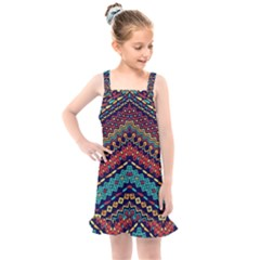 Ethnic  Kids  Overall Dress by Sobalvarro