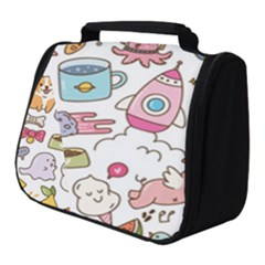 Set Kawaii Doodles Full Print Travel Pouch (small)