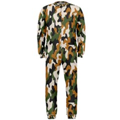 Vector Seamless Military Camouflage Pattern Seamless Vector Abstract Background Onepiece Jumpsuit (men)
