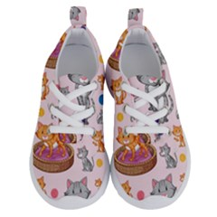 Cat Seamless Pattern Running Shoes by Vaneshart