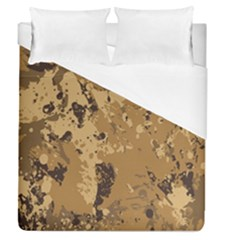 Abstract Grunge Camouflage Background Duvet Cover (queen Size)