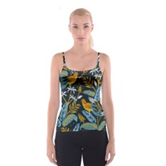 Birds Nature Design Spaghetti Strap Top