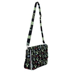 Cute Africa Seamless Pattern Shoulder Bag With Back Zipper