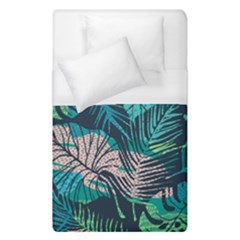 Seamless Abstract Pattern With Tropical Plants Duvet Cover (single Size)