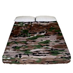 Fabric Camo Protective Fitted Sheet (queen Size)