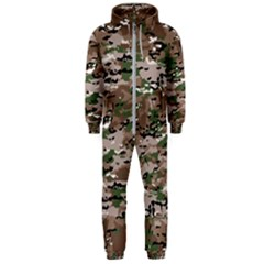 Fabric Camo Protective Hooded Jumpsuit (men)