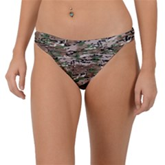 Fabric Camo Protective Band Bikini Bottom