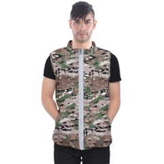 Fabric Camo Protective Men s Puffer Vest