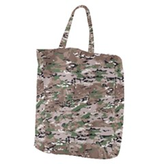 Fabric Camo Protective Giant Grocery Tote