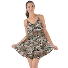 Fabric Camo Protective Love The Sun Cover Up