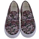 Fabric Camo Protective Kids  Canvas Slip Ons View1