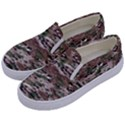 Fabric Camo Protective Kids  Canvas Slip Ons View2
