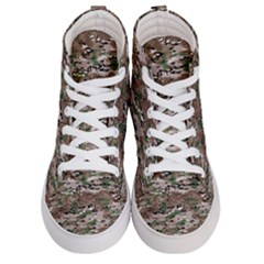 Fabric Camo Protective Men s Hi Top Skate Sneakers