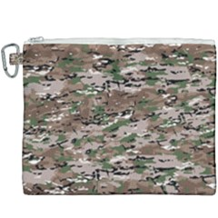 Fabric Camo Protective Canvas Cosmetic Bag (xxxl)