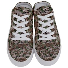 Fabric Camo Protective Half Slippers