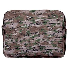 Fabric Camo Protective Make Up Pouch (large)