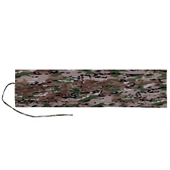 Fabric Camo Protective Roll Up Canvas Pencil Holder (l)