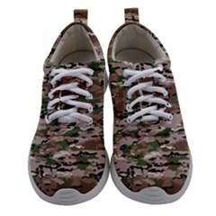 Fabric Camo Protective Women Athletic Shoes