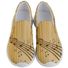 Background Music Nuts Sheet Men s Lightweight Slip Ons by Mariart