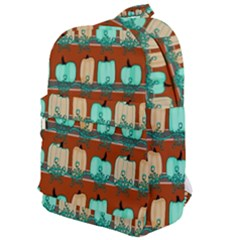Bluegreen Pumpkins Classic Backpack by bloomingvinedesign